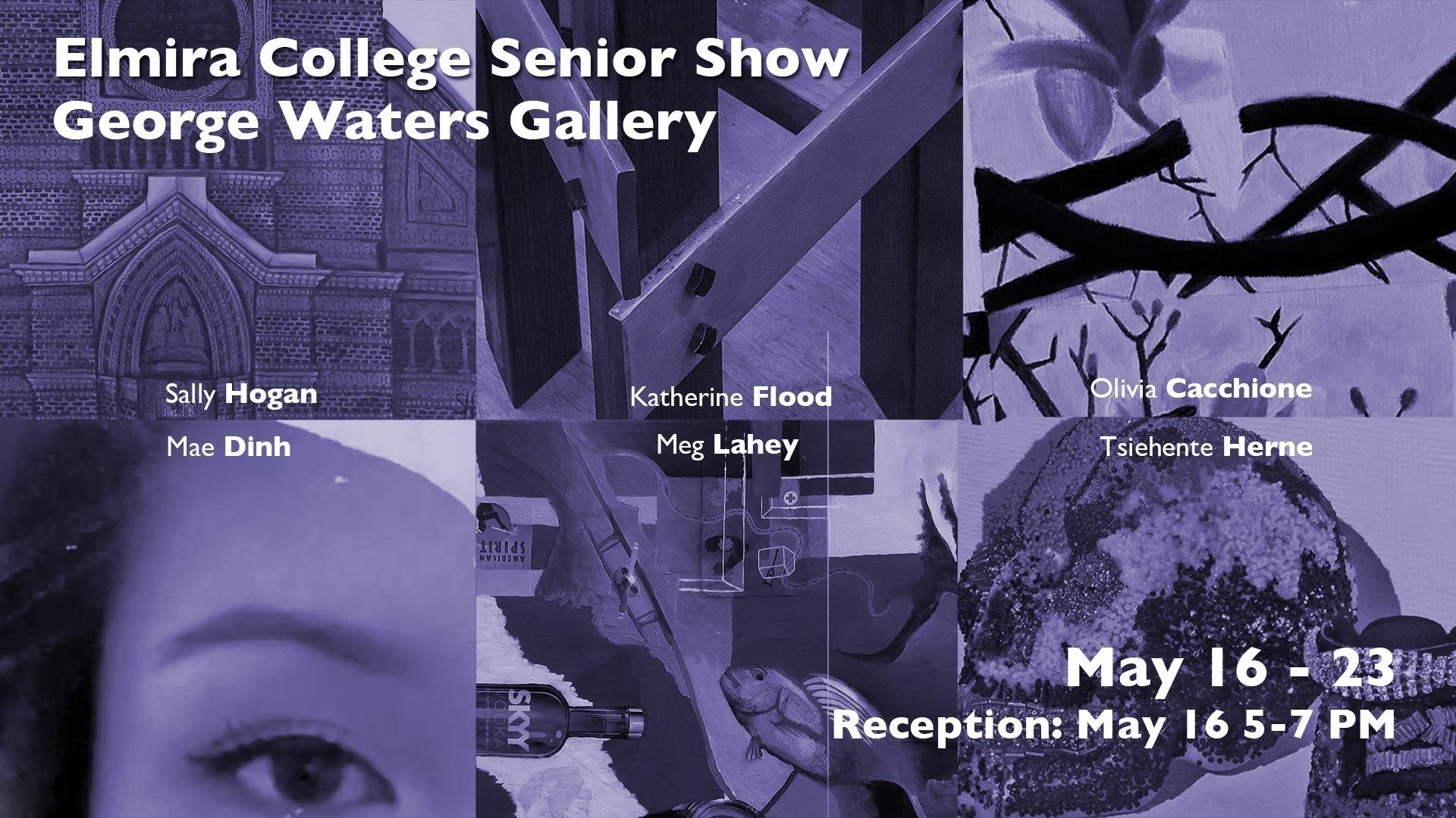 Student art show banner