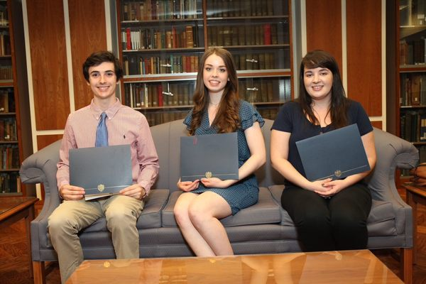 Library research award winners