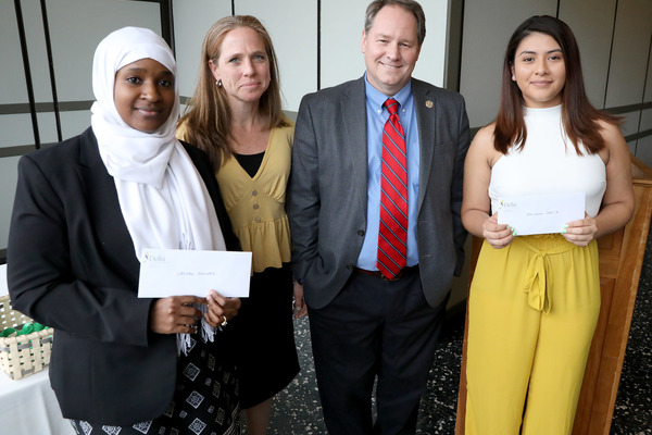 2019 honors program dennis callas scholarship recipients