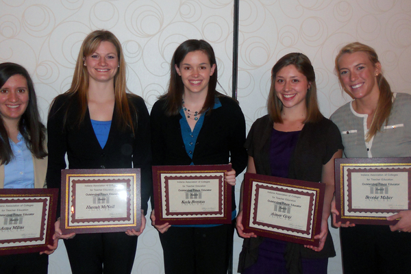 Ue outstanding future educators 2012