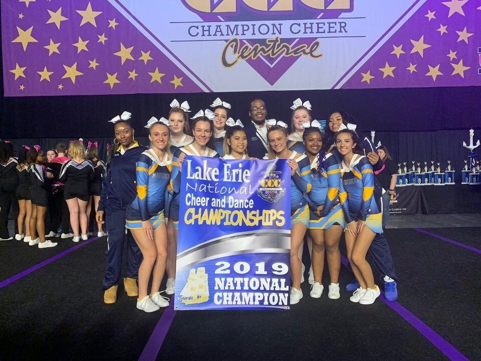 2019 cheerleading lake erie national championship