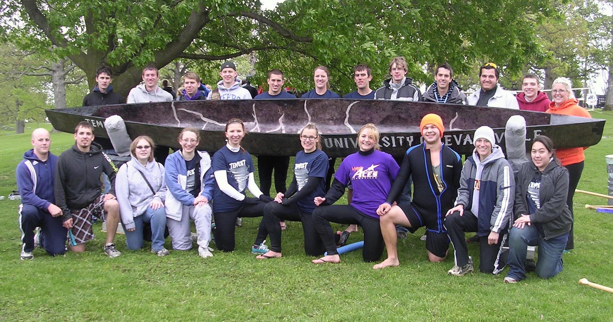Ue concrete canoe 2012