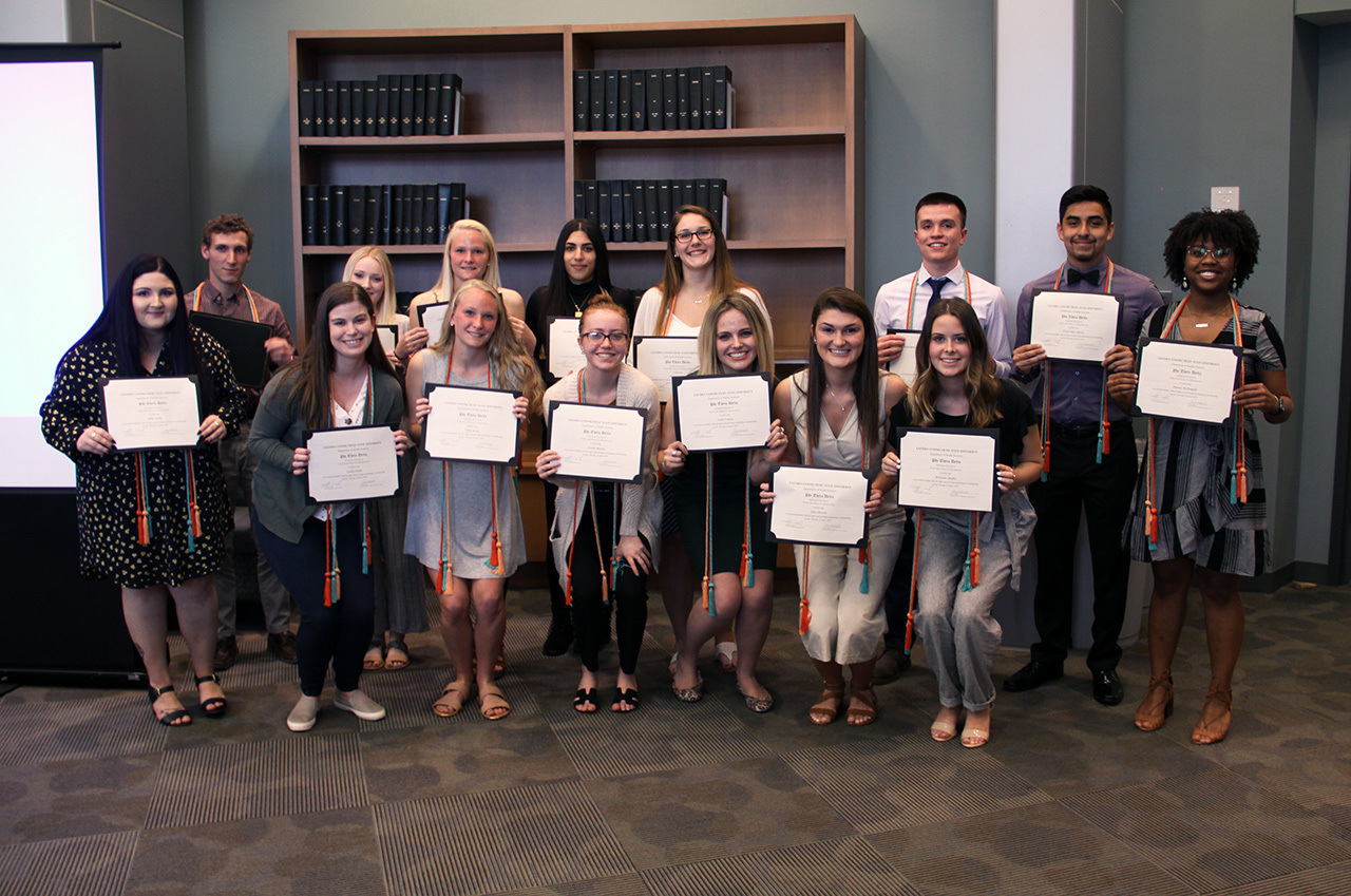 Health sciences honor society inductees