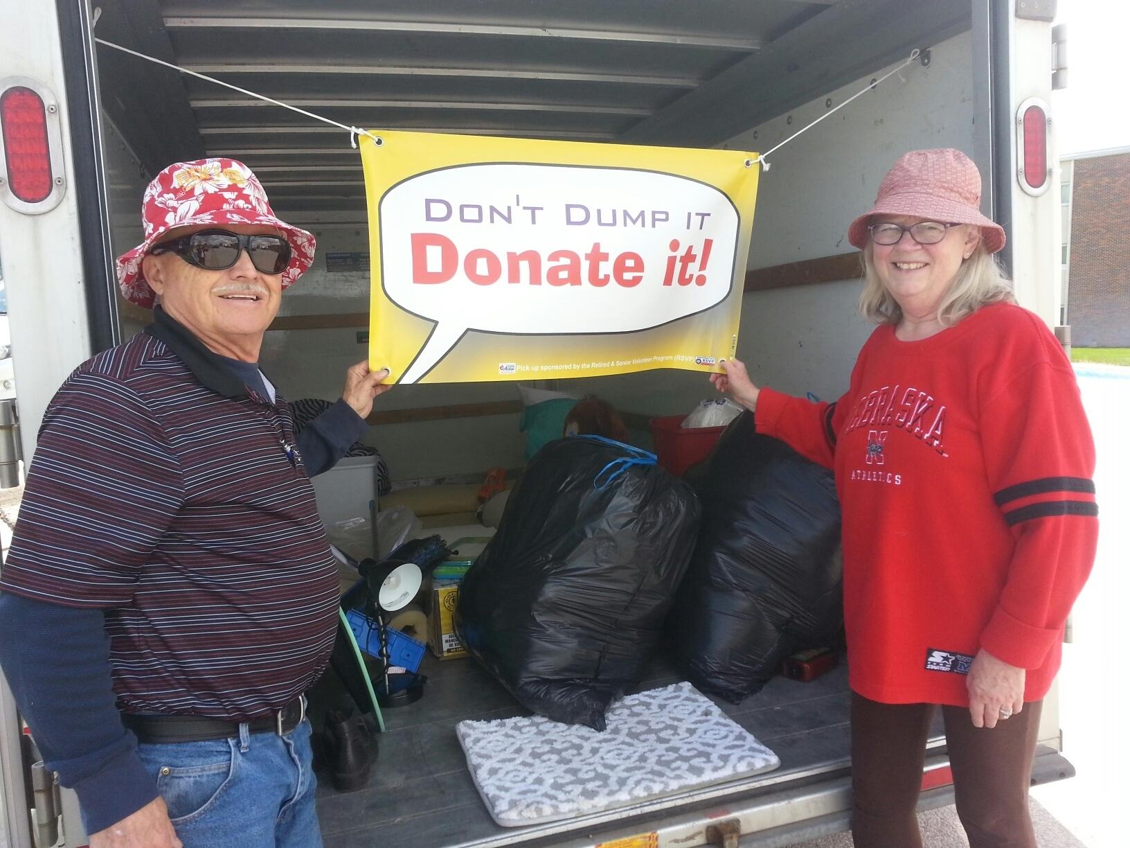 Donate dont dump 2