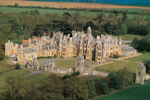 Harlaxton college aerial
