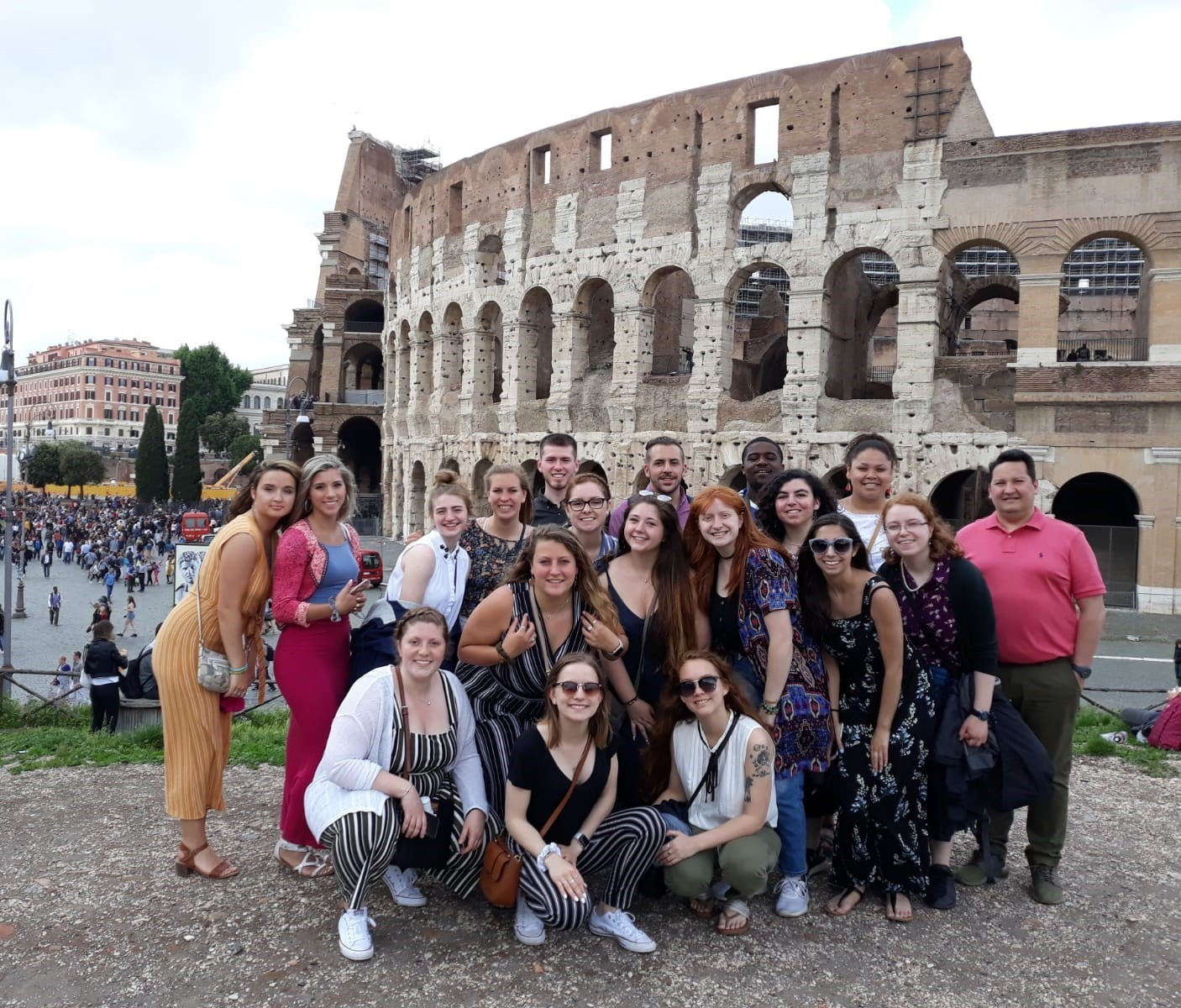 Italy collosseum in rom
