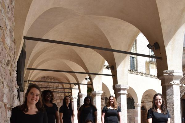 Italy basilica assisi
