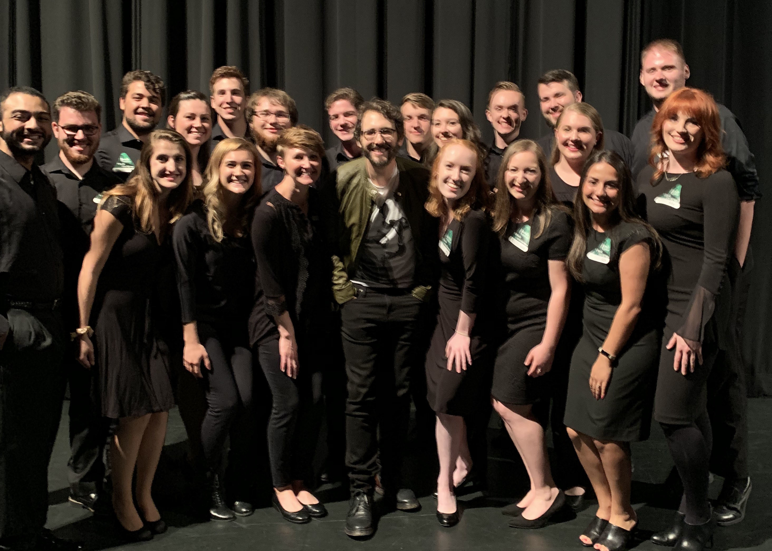 Josh groban and nazareth students 2019