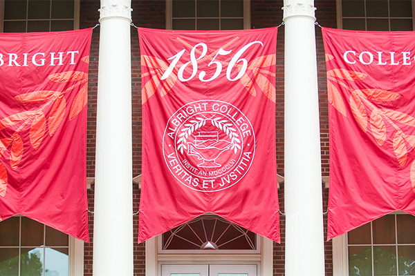 Campus flags
