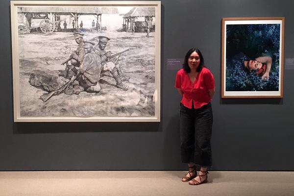 Zi yi huang at yale art gallery