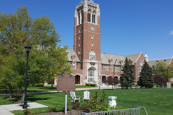 John carroll campus shot