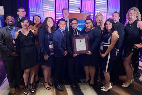 Delta sigs mitchell award 2019