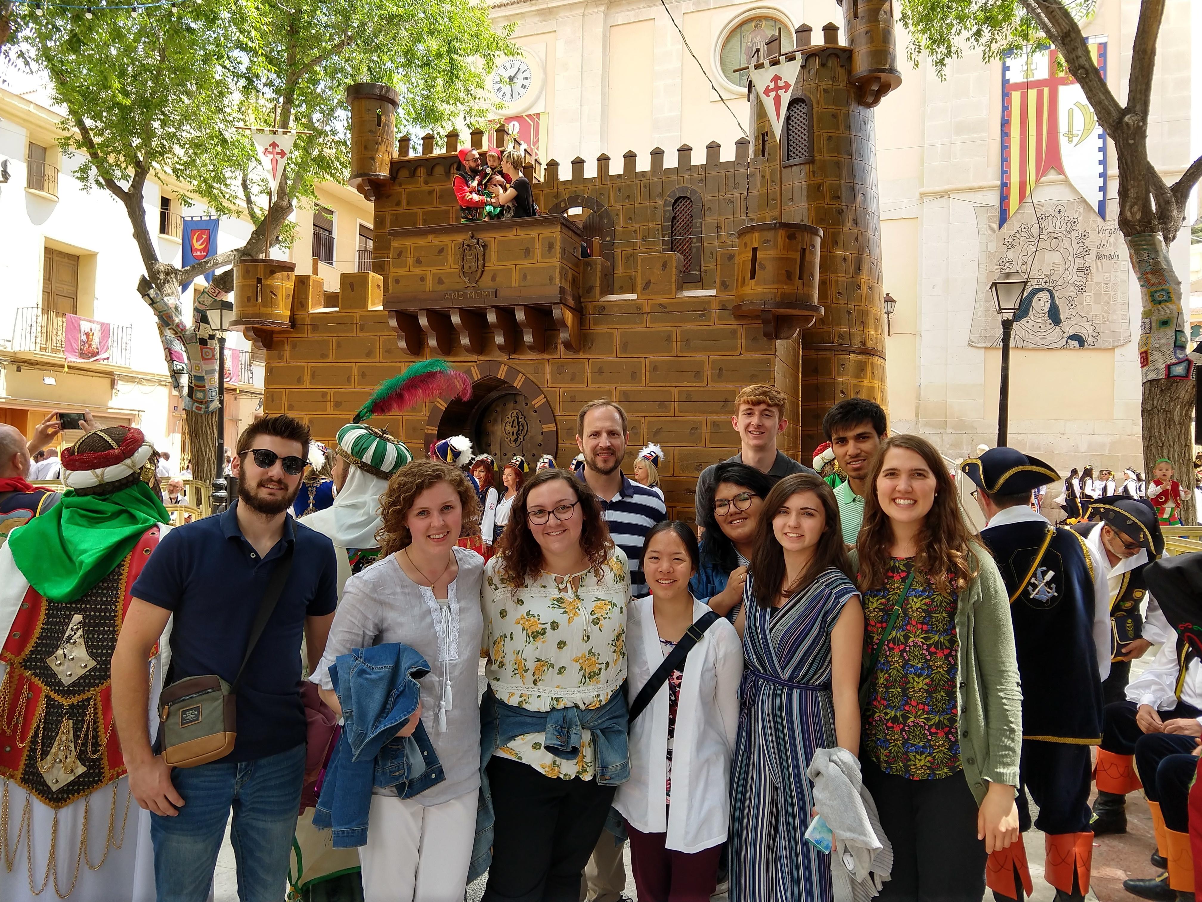 Spain study abroad festival 2019