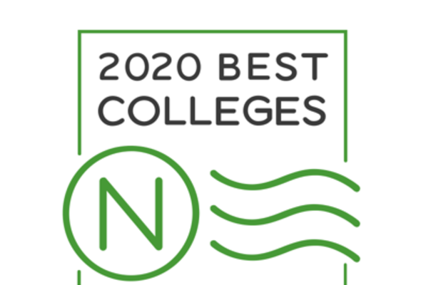 Rankings badge best colleges large