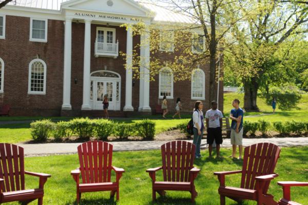 Alumni hall chairs