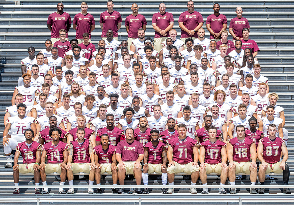 2019 kutztown university football team photo