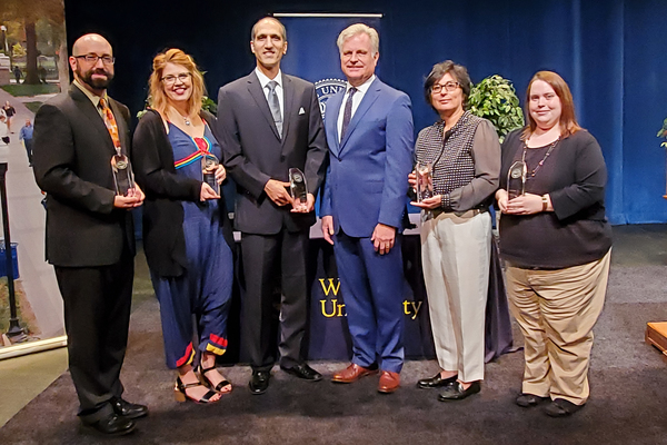 Wilkes presidents awards for excellence