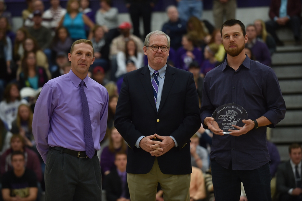 1415210626 ben zobrist olivet hall of fame 2014 pr