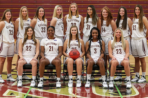 2019 20 kutztown university womens basketball team photo
