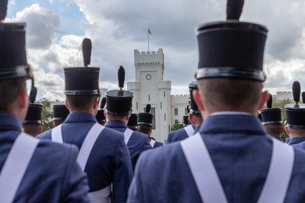 Cadets at parade
