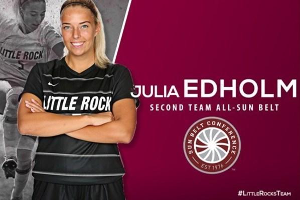 Juliaedholm secondteam all sun belt