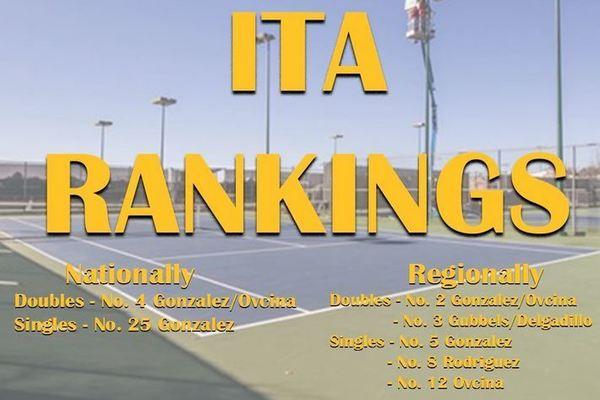 Ita tennis rankings 11 19