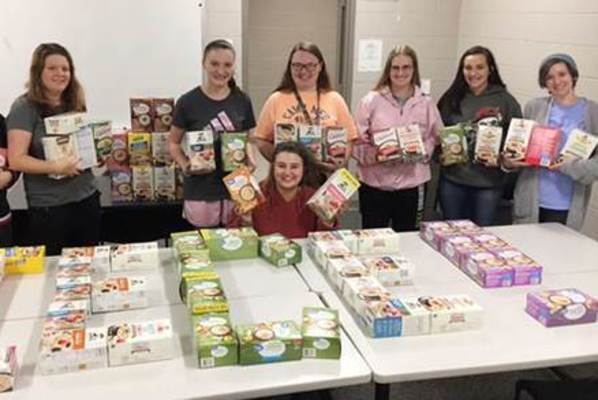 Sustainability month pantry winners