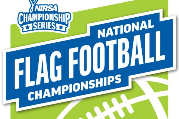 Nirsa flag football logo