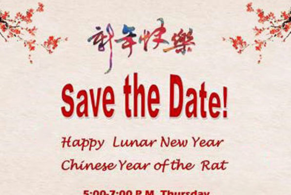 Large lunar new year social