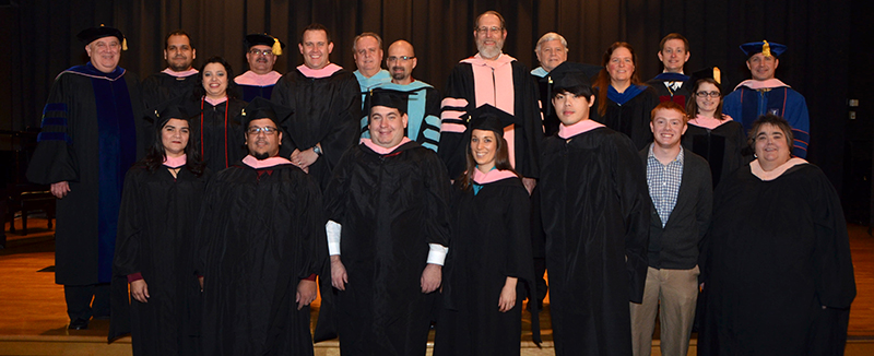 1419273397 music hooding w faculty fall 2014
