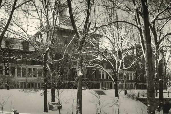Chrter day rc circa 1940s old campus