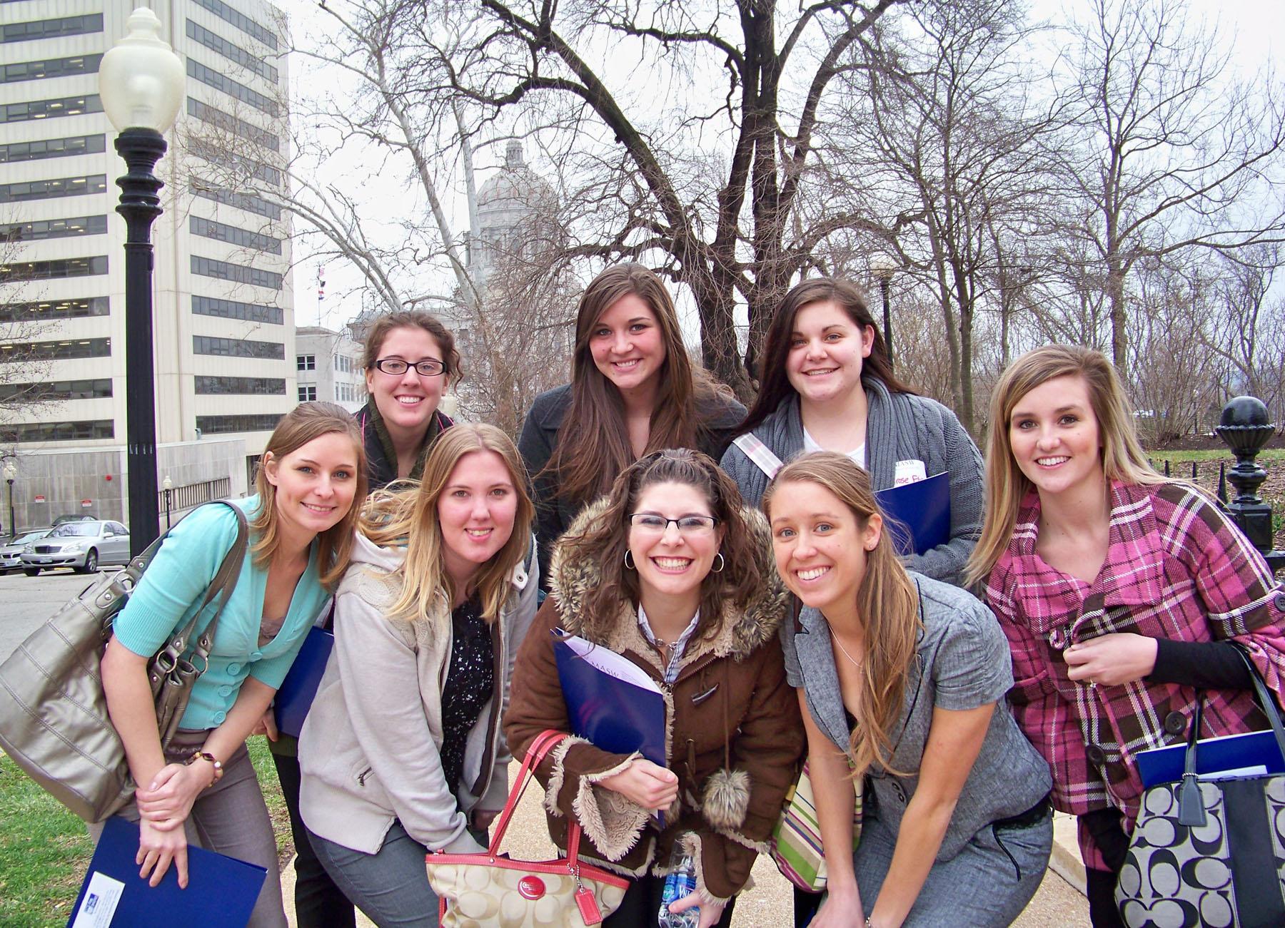 Social work seniors 2011