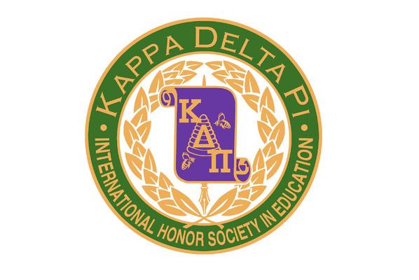 Kappa delta pi   education logo