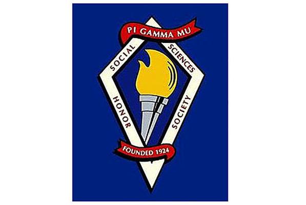 Pi gamma mu soc science logo