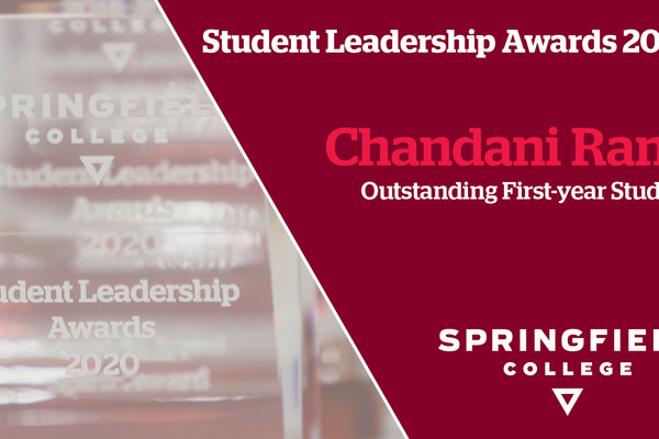 Student leadership awards2020 chandani rana outstanding first year student 1920x1080