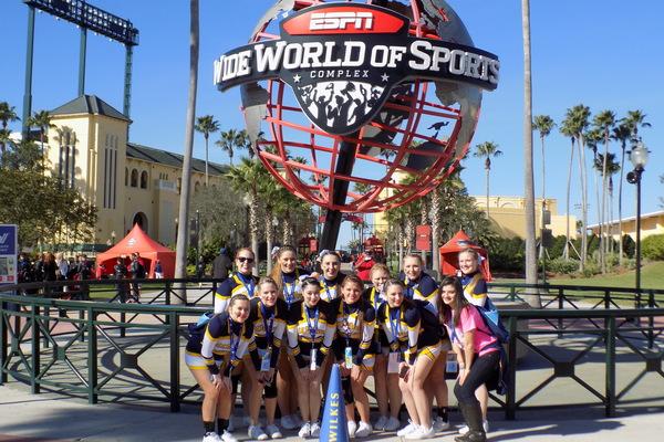 1423752084 wilkes cheerleaders national competition