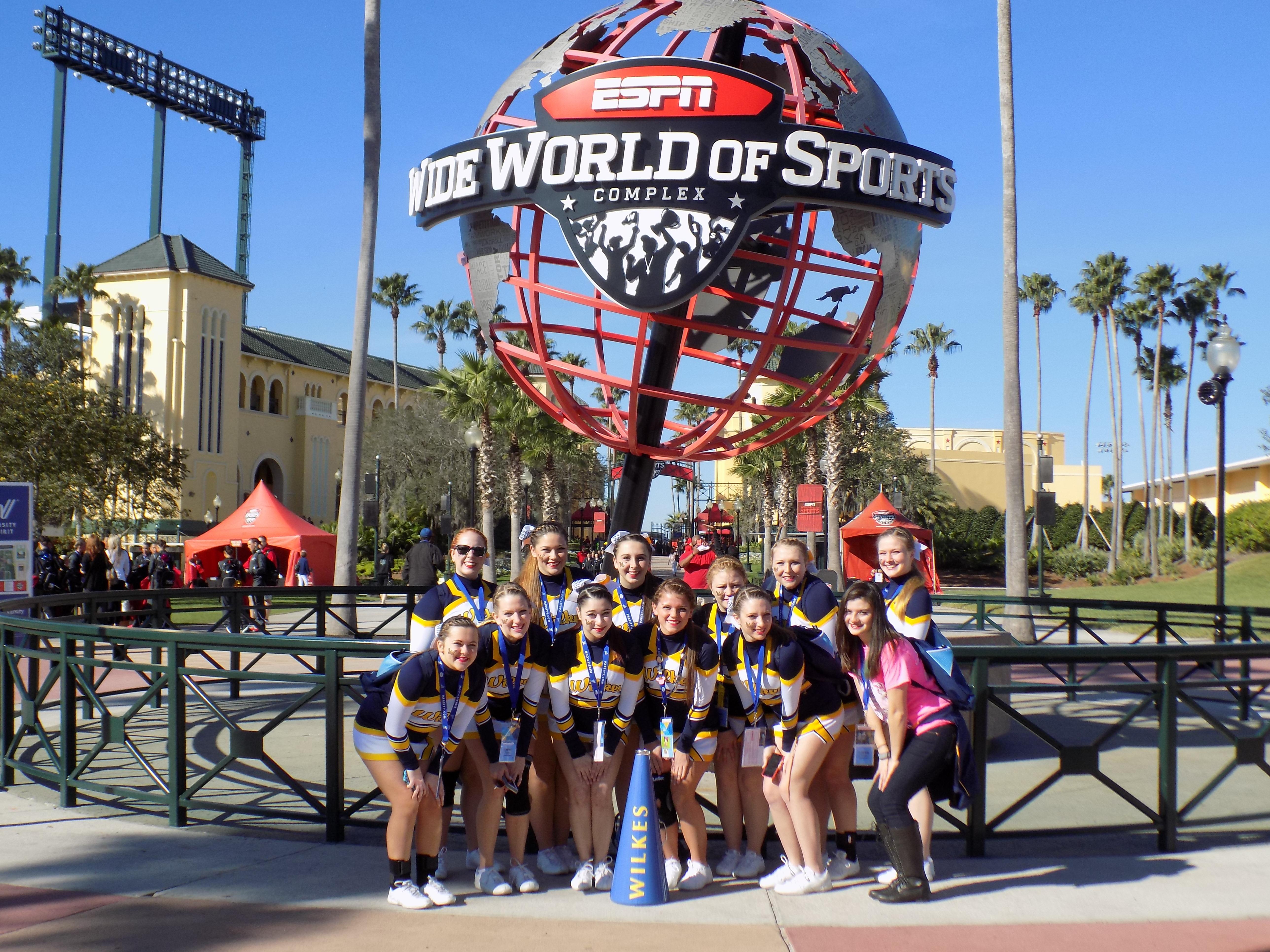 1423752084 wilkes cheerleaders national competition