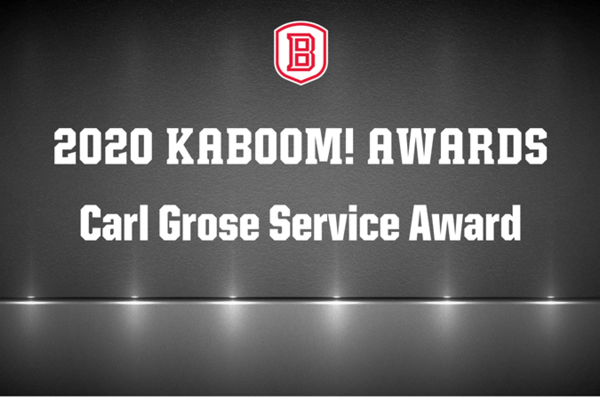 Carl grose service award