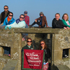 13 entire group enjoying the scenery in saint malo france