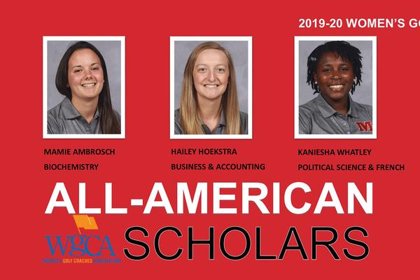 Wgca all american scholars