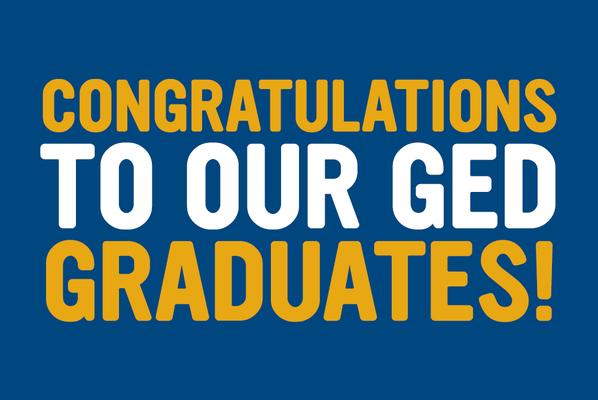 Congrats ged grads social