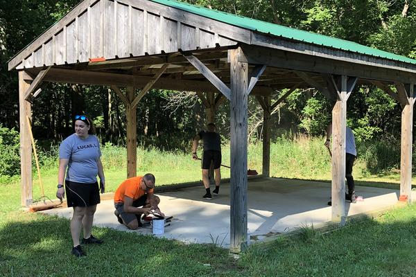 Academy volunteer mill cove