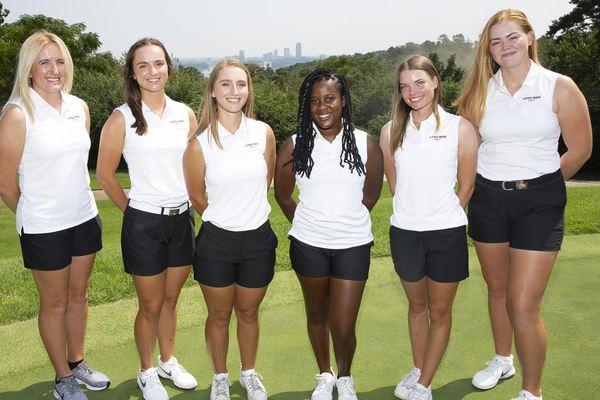 2019 20 little rock women s golf team picture web