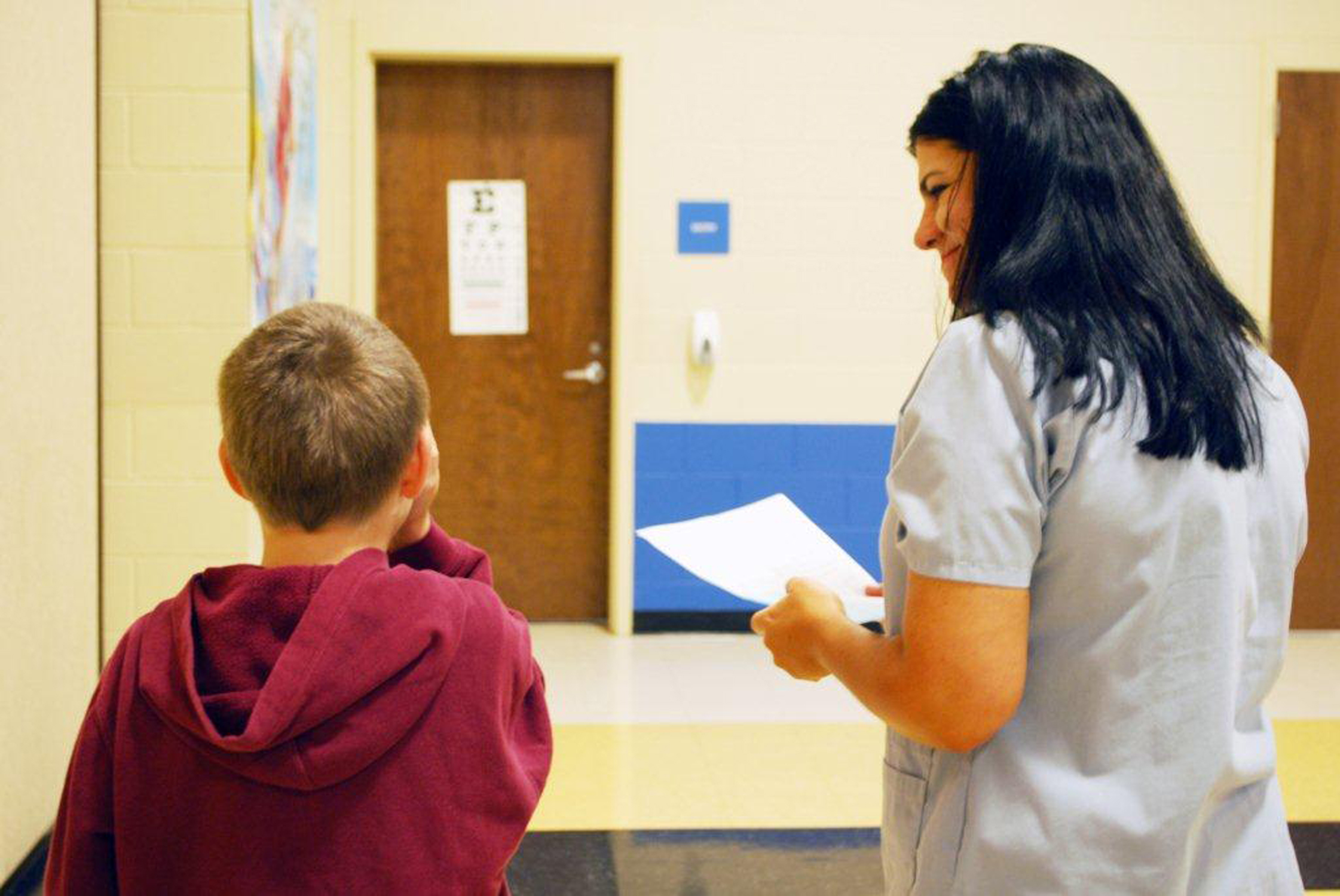 Nursing vision screening