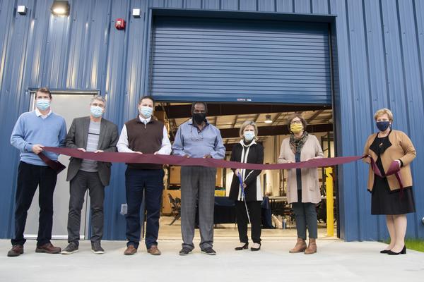 Ribboncutting facility building