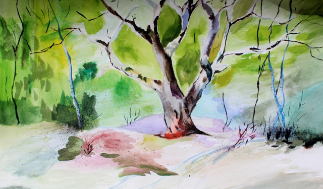 1428597293 zhou  watercolor landscape