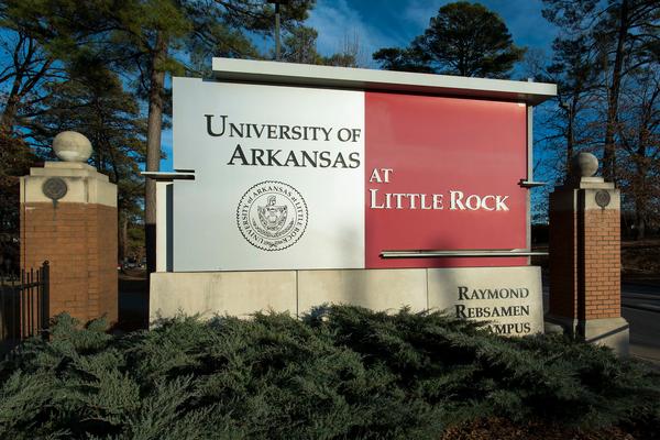 Campus enterance sign
