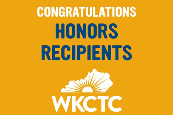 Congratulations honors recipients
