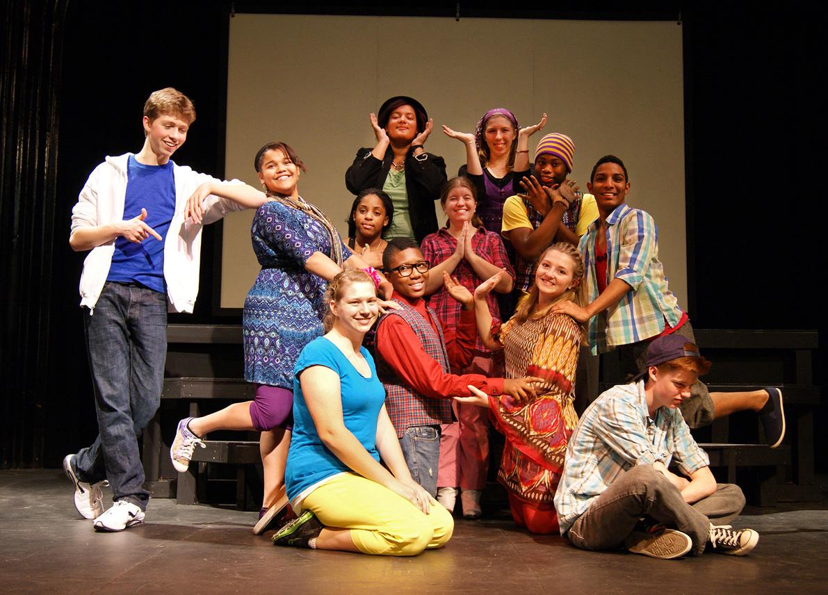 2011 godspell cast