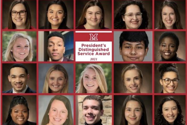 2021 presidents distinguished service award recipients